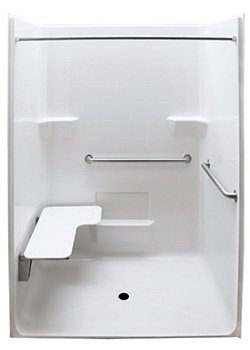 Code Compliant Wheelchair Showers for Handicapped Accessibility