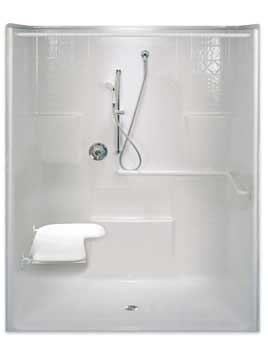 1) ADA Roll In Showers (minimum 60u2033 X 30u2033 Inside Dimensions)